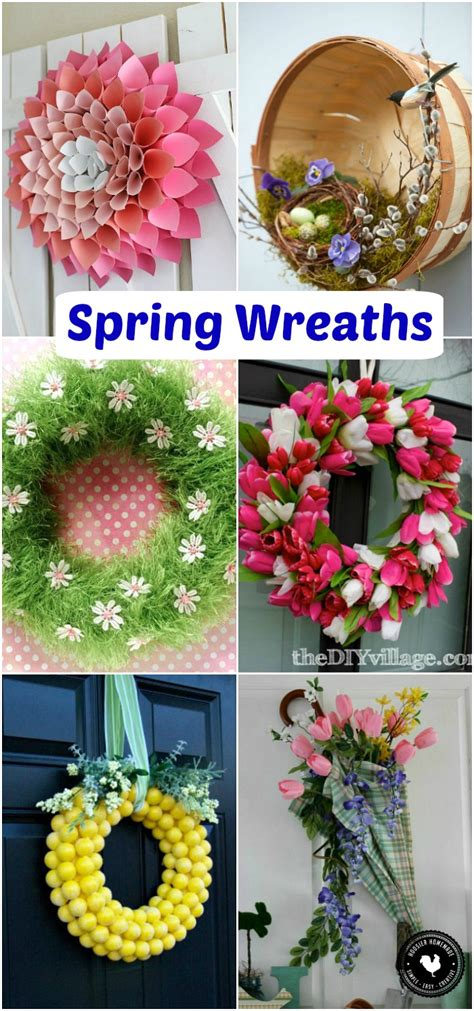 spring wreaths to make spring wreaths spring inspiration hoosier homemade