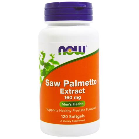 отзывы now foods saw palmetto extract 160 mg 120