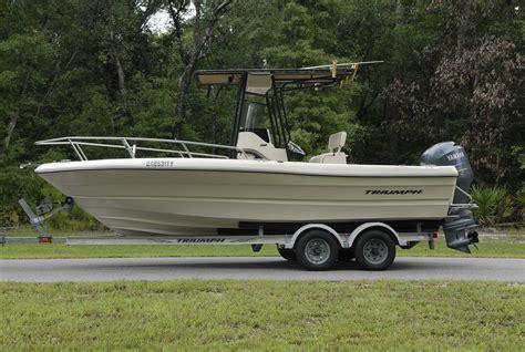triumph boat trailer triumph chaos 21 center console for sale the hull truth