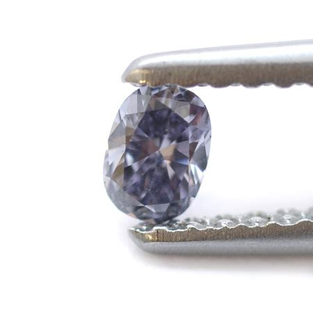 Fancy Colored Diamonds To Die For From Fancydiamonds Net by Fancy Gray Violet Oval By Leibish Co 0 13ct
