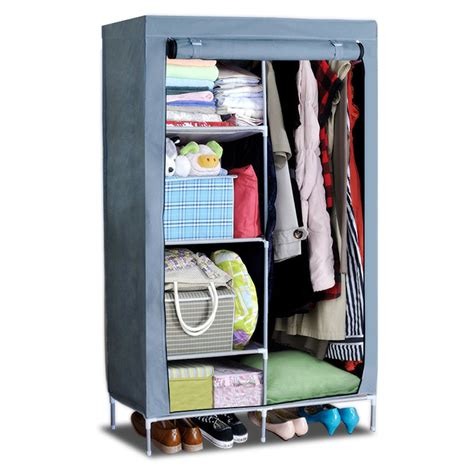 Portable Closets With Doors by Excellent Portable Closet Armoire Roselawnlutheran