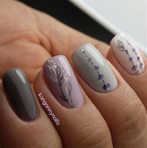 grey pattern nails lavender grey nails olive these nails pinterest