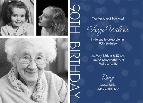 90th birthday invitations templates 90th birthday invites templates 90th birthday invitation