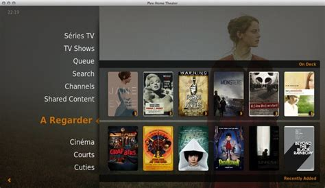 plex home theater 1 0 released plex
