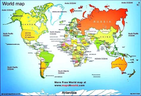 printable world map countries and capitals large world map with countries and capitals images