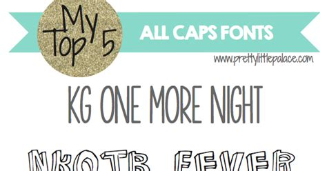 Free Wedding Fonts All Caps by Pretty Palace Font Junkie Friday All Caps Fonts