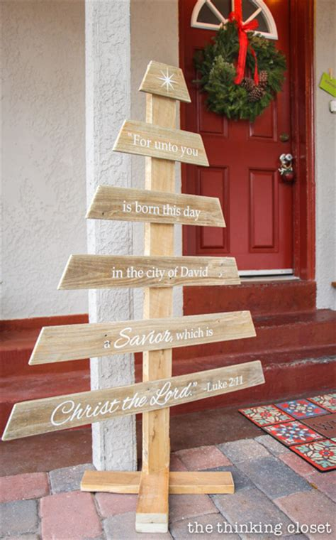 amazing diy pallet christmas tree ideas