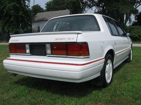 dodge spirit 1992 1992 dodge spirit r t 4000 turbo dodge forums turbo