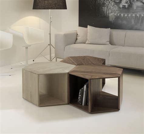 minimalist table minimalist and functional hexa coffee table digsdigs
