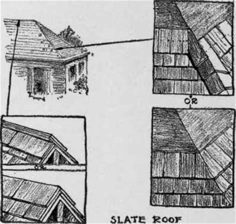 Boston Hip Roof Method Of Laying Roofs Slate