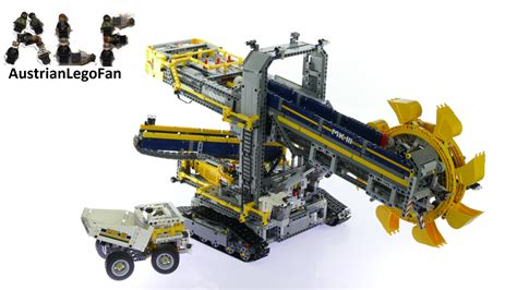 technic bucket wheel excavator technic 42055 bucket wheel excavator speed