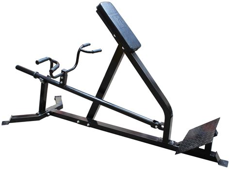 Lever Weight Bench Chest Supported Lat Row Bench V2