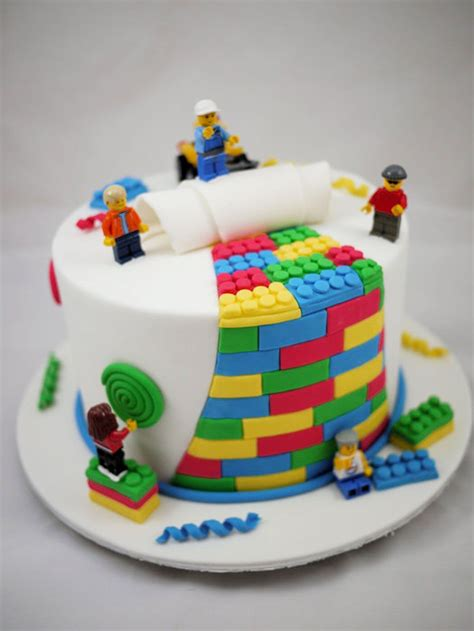 happy birthday lego design love this has to be his first birthday cake lego