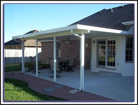 Insulated Patio Cover Installation   Patios : Home