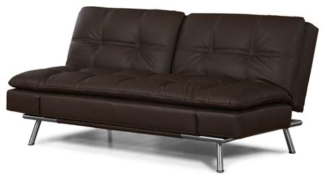 Sofa Bed Minimalis Di Surabaya sebu collection matrix cushion sofa bed brown modern futons by inmod