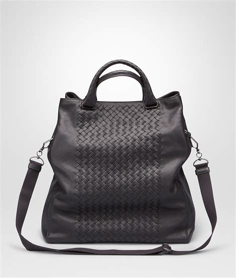 Bottega Nero Intreciatto Napa Tote Bag Handbag Tas Brande bottega veneta nero intrecciato washed nappa tote bag in black for nero lyst