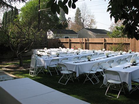 small backyard wedding reception ideas a wedding for under 5 000 project wedding