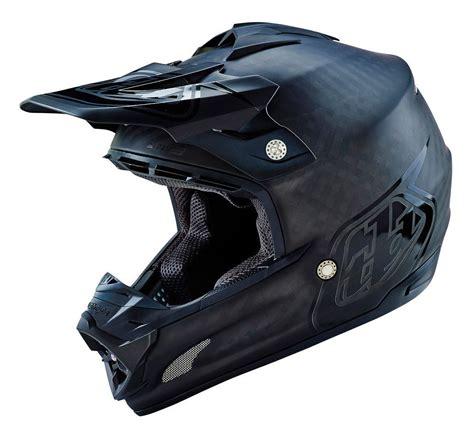 carbon fiber motocross helmet troy lee se3 midnight carbon fiber helmet revzilla