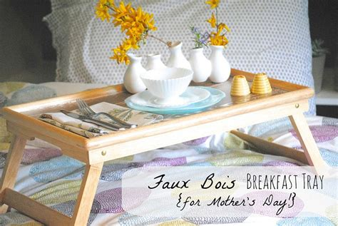 Diy Tray diy breakfast and serving trays to bring more comfort into
