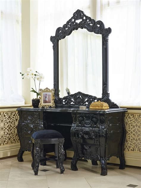 Makeup Vanity Table Only Best 25 Black Dressing Tables Ideas On Black Makeup Table Black Vanity Table And