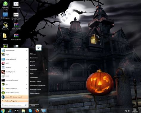 download theme windows 7 halloween windows 7 halloween theme pack download baixaki
