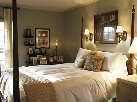 traditional bedroom decorating ideas traditional bedroom with four post bed and white linens hgtv