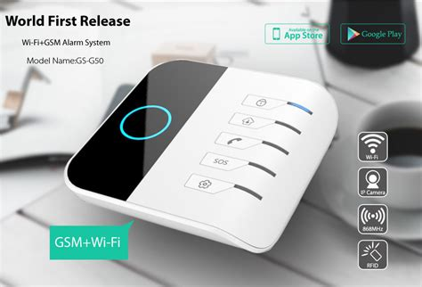 2015 newest gsm wifi alarm system with delicate and