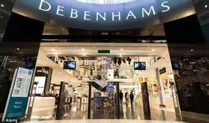 Debenhams Sale Begins by Cost Of S Clothes Drives Up Inflation Daily Mail