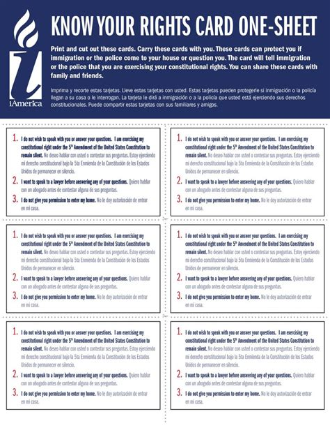 printable rights card what are ice raids how to prepare and what to expect if