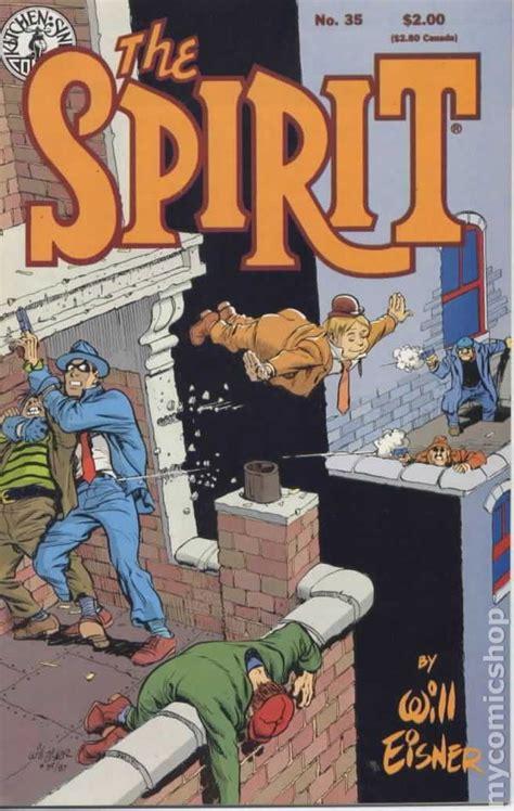 Kitchen Sink Comics Spirit 1983 Kitchen Sink Comic Books