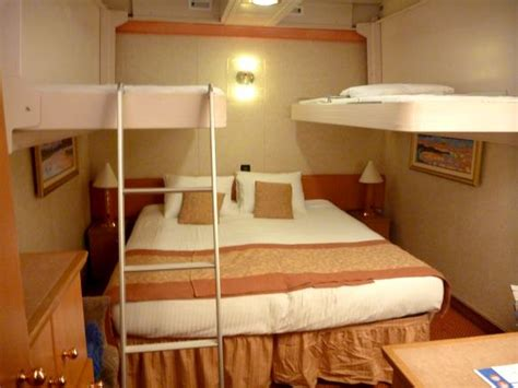 cruise interior room rooms interior with bunks cruise stories