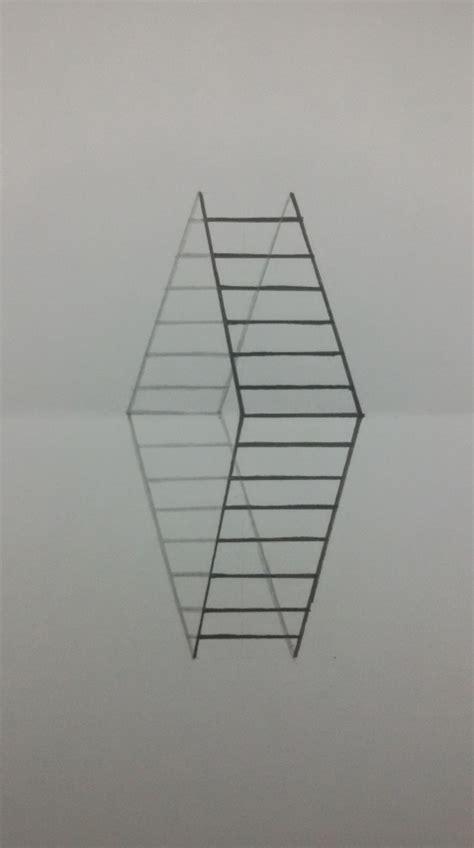 cara membuat gambar 3d gang cara membuat gambar tangga 3d sederhana maudi s