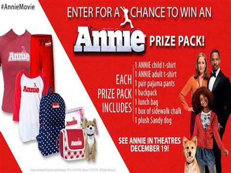 Amc Giveaway - amc annie movie prize pack giveaway blissxo com