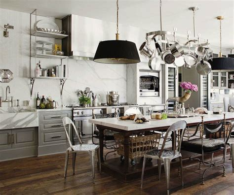 French Industrial Country Kitchen   Kathy Kuo Blog   Kathy
