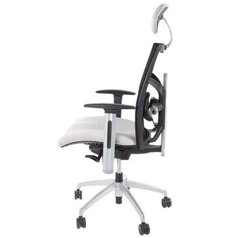 fauteuil de bureau quot techno quot tissu gris