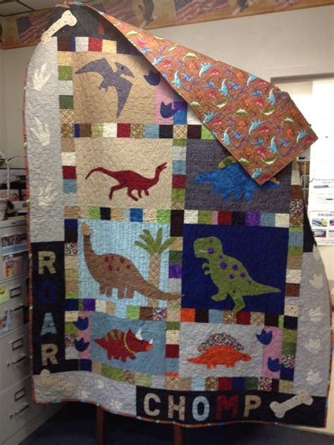 Dinosaur Quilt by Quilt Dinosaurs Quilting Kid Quilt