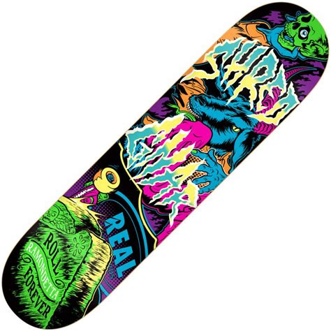 Awesome Skateboard Deck by Real Skateboards Real Ramondetta Awesome Deck 8 125
