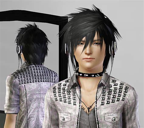 sims 3 anime hair mod the sims wcif kazuki s hair