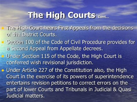 Essay On District Court Of India by Is The Judgement Of High Court Of One State Is Binding For All District Courts Of India