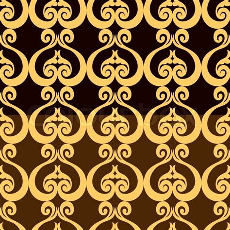 fashion vector background pattern abstract backgrounds damask ornament classic seamless