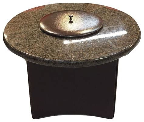 oriflamme pit shop houzz oriflamme oriflamme mini 32 quot granite pit table pits