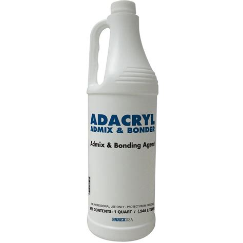 lahabra 1 qt adacryl admix and bonder 2084 the home depot