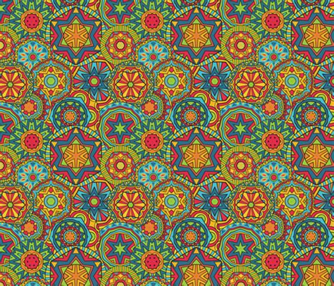 ethnic pattern fabric bright ethnic pattern fabric ksanask spoonflower
