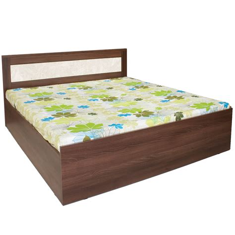 bed cost crystal furnitech dylan king size without storage bed