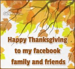 happy thanksgiving images facebook happy thanksgiving to my facebook friends and family