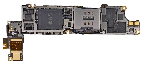 iphone motherboard layout iphone 5 motherboard pictured