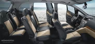 Opel Zafira Interior Dimensions Opel Zafira 2006 2007 2008 Autoevolution