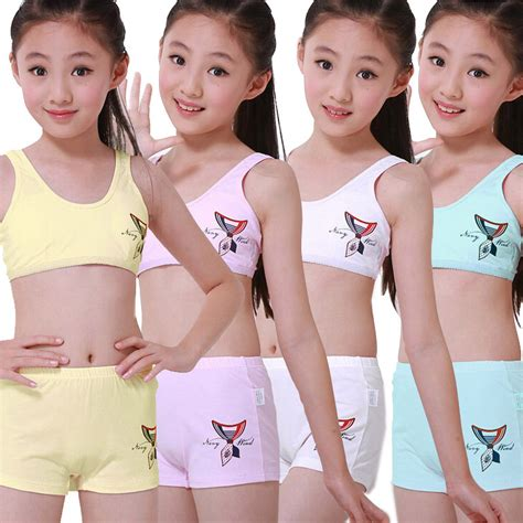 very young junior teen aliexpress com buy 4sets lot puberty young girl student