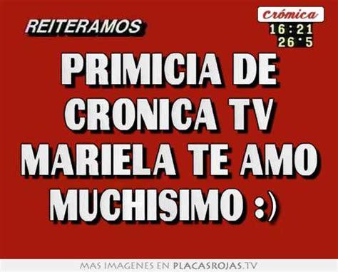 imagenes te amo muchisimo primicia de cronica tv mariela te amo muchisimo