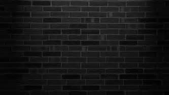 black brick wall hd wallpaper